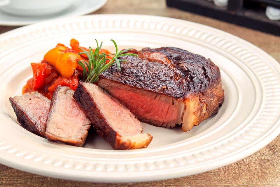 Butter-Basted Rib Eye Steak Recipe