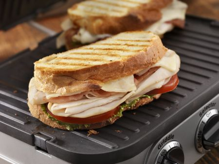 kitchen grills cabinets raleigh nc the 8 best indoor and sandwich presses to buy in 2019 turkey club panini on grill press