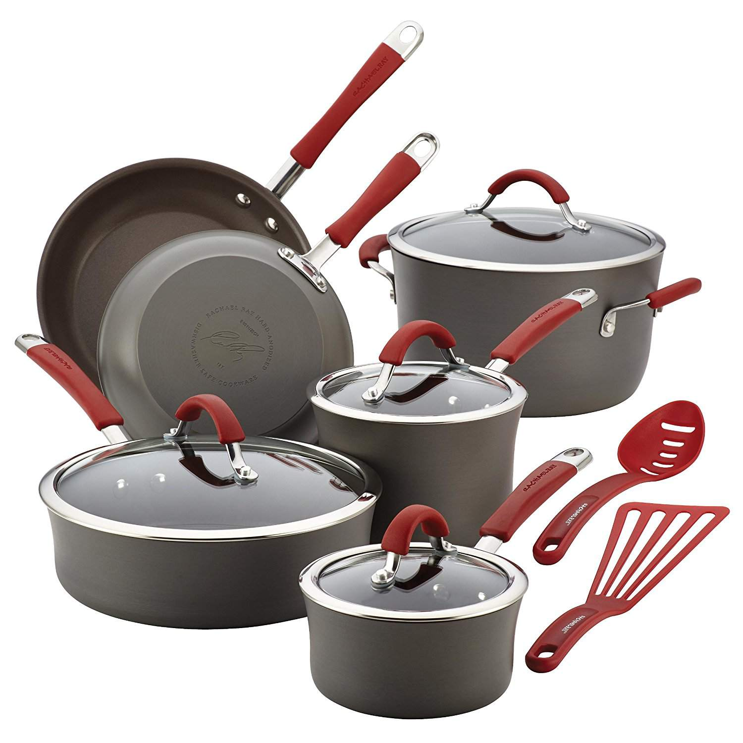 kitchen pan set tiffany blue accessories the 7 best nonstick cookware sets to buy in 2019 value rachael ray cucina 12 piece