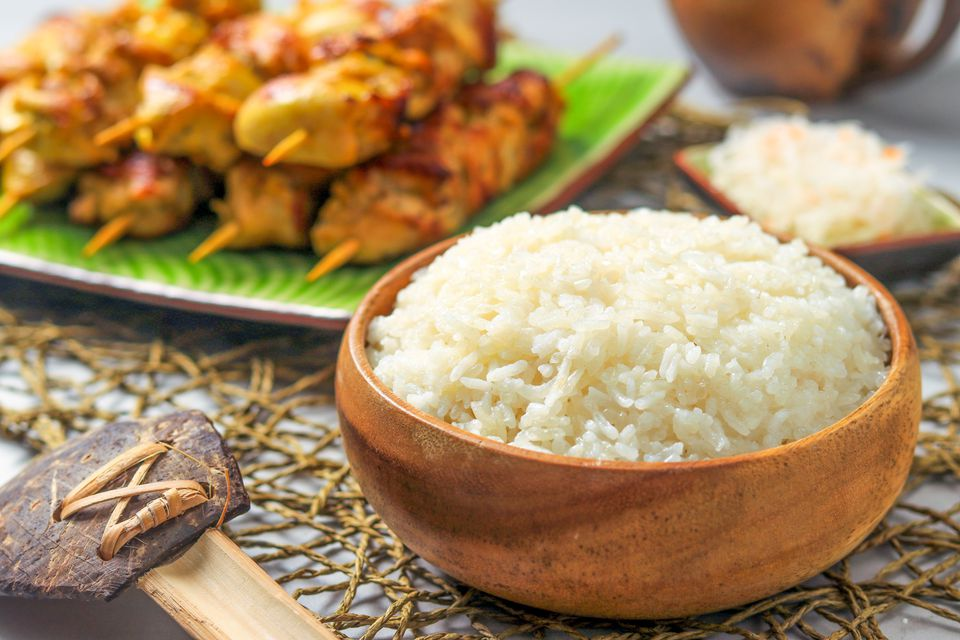 Sticky Rice Recipe for the Rice Cooker