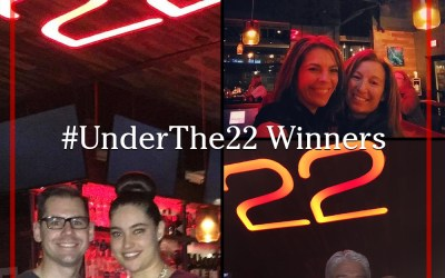 #UnderThe22 Contest Winners Announced