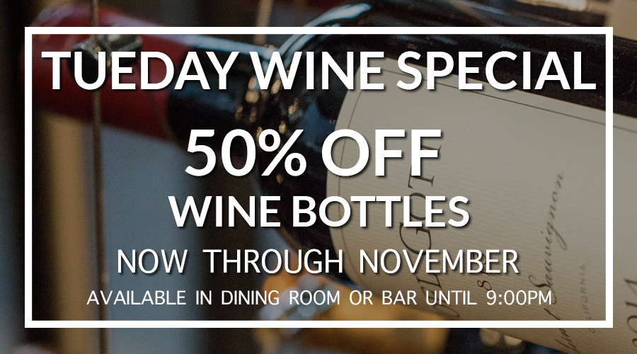 LIMITED TIME: 50% OFF Wine Bottle On Tuesday