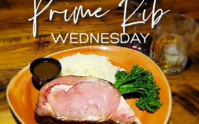New Prime Rib Wednesday Special