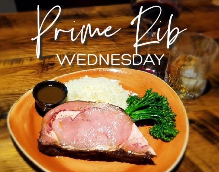New Prime Rib Wednesday Special