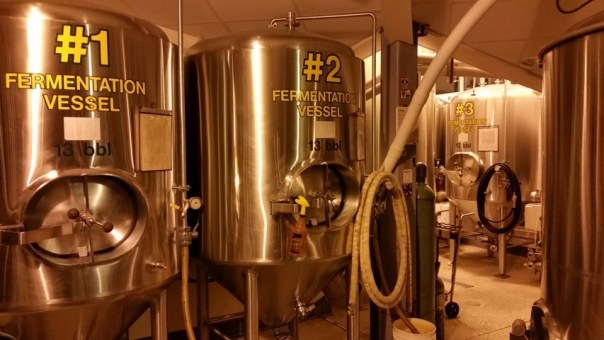 They brew at both of their locations (Oshkosh and Appleton).