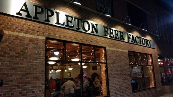 Appleton Beer Factory. All photos by Joe Powell.