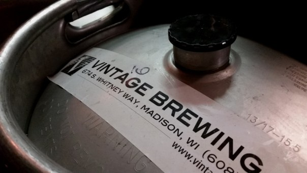 Vintage Brewing Company in Madison, WI. All photos taken by Joe Powell.