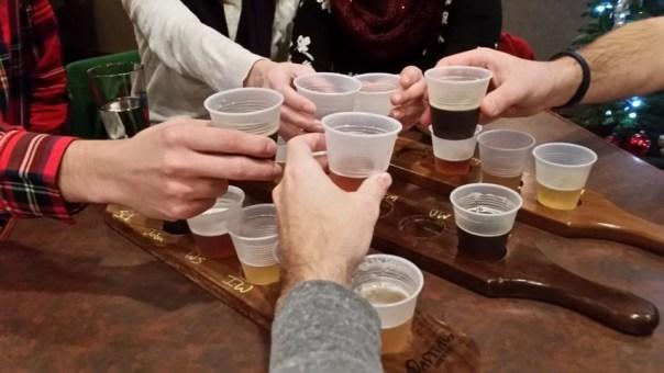#BeerCheersSelfie, the only acceptable type.