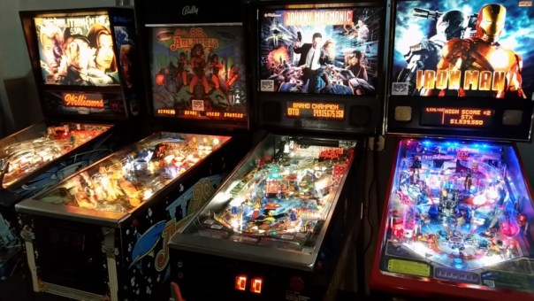 And they host pinball tournaments, so you know they've got street cred.