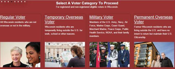 Screenshot from www.MyVote.WI.gov.