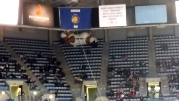 Inflatable Bango getting stuck in the nose-bleeds on the last game I went to this season. Pretty much sums it up.