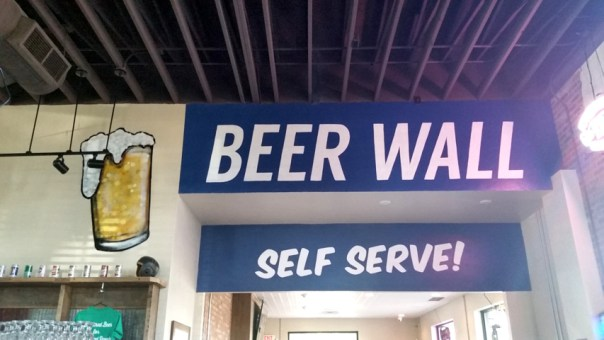 Well, self-serve beer gets close.