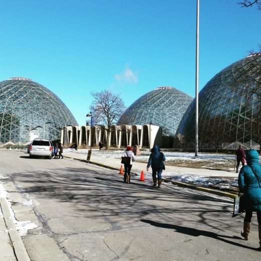 Mitchell Park Domes. Photo by Joe Powell.