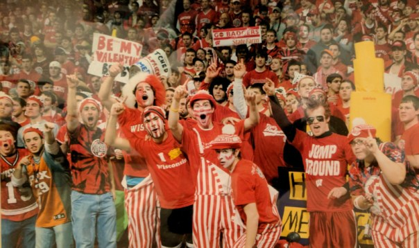 ESPN College Gameday at the Kohl Center in Madison, WI in 2009. Photo by ESPN.