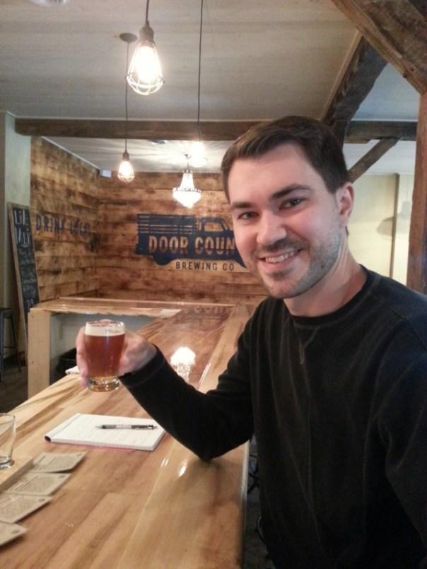 Joe at Door County Brewing Company