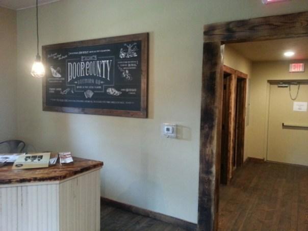 Door County Brewing Company tap room