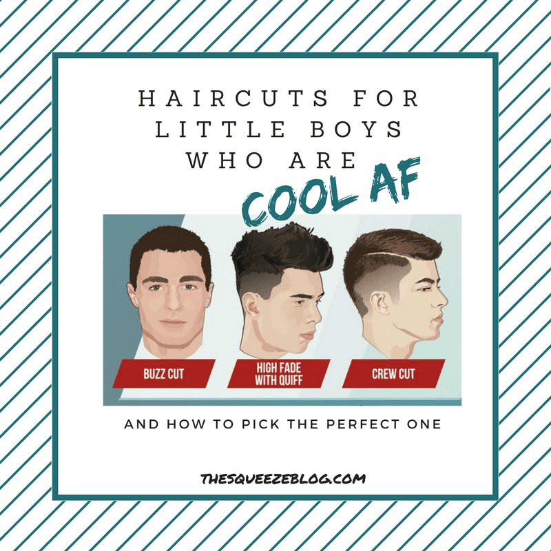 How To Pick The Perfect Haircuts For Little Boys Who Are Cool Af