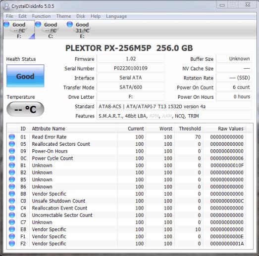 Plextor M5 Pro CDI