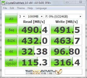 Kingfast F3 Plus Fake SSD CDM
