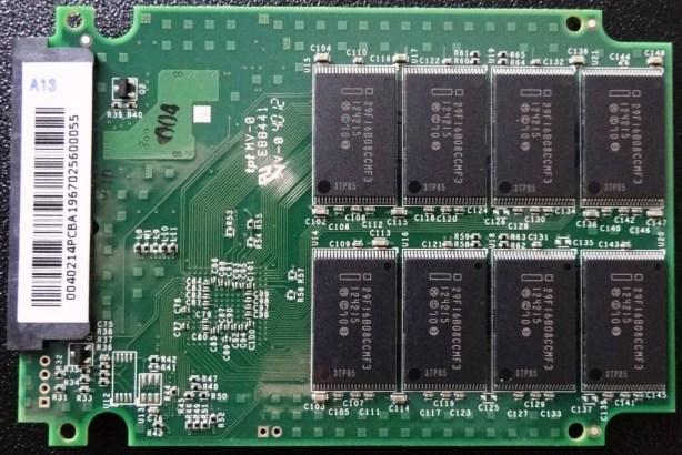 OCZ Vertex 3.20 PCB Back
