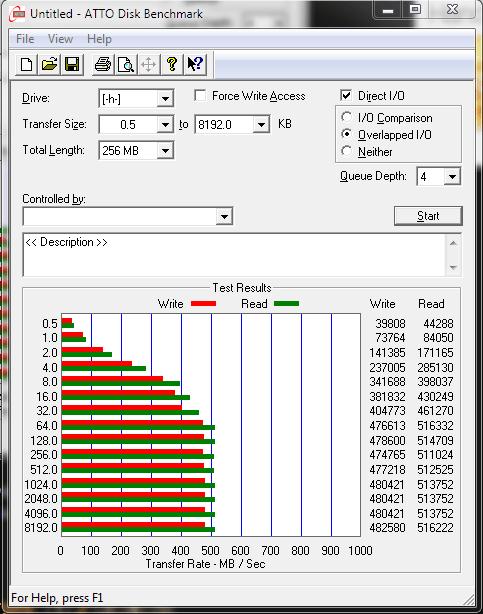 Samsung 840 pro 512GB SSD
