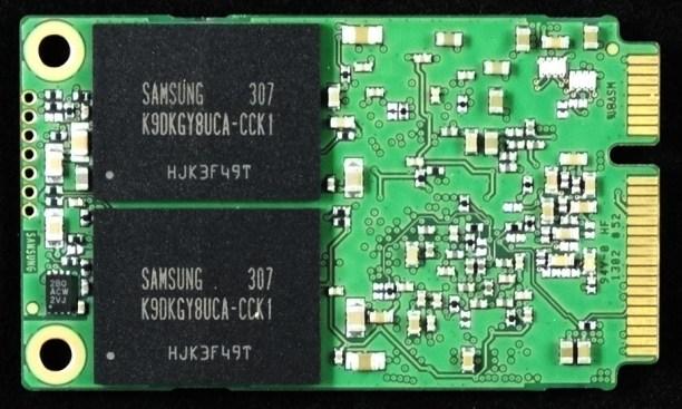Samsung PM841 512GB mSATA PCB Back