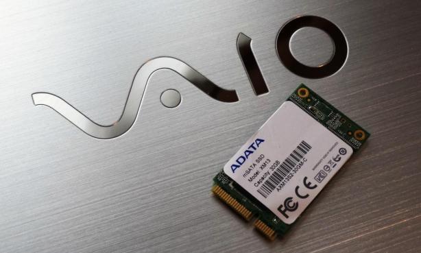 Sony VAIO T14 ADATA mSATA XM13 SSD