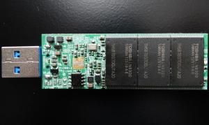 SuperTalent RC4 PCB Back