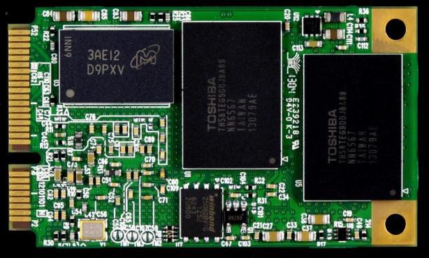 Plextor M5M mSATA SSD PCB Back