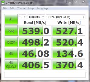 CPU Optimized Samsung 840 EVO 1TB SSD CDM