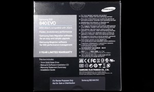 Samsung EVO 840 1TB SSD Exterior Back