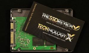Samsung EVO 840 1TB SSD PCB Size Business Card