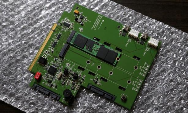 Samsung XP941 512GB M2 SSD Desktop Adapter