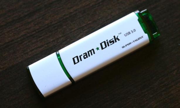 SuperTalent DramDisk Angled