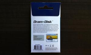 SuperTalent DramDisk Exterior Back
