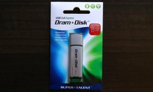 SuperTalent DramDisk Exterior Front
