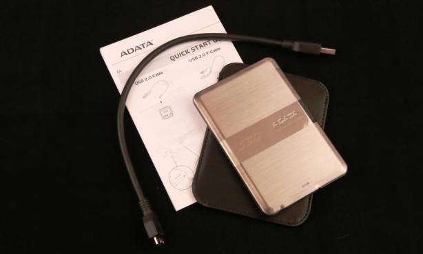 AData SE720 External SSD Components