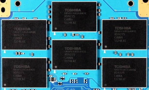 Toshiba Q Pro SSD PCB Memory