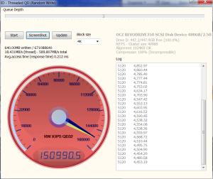 OCZ RevoDrive 350 PCIe SSD Anvil 150K Write