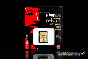 Kingston Ultimate 64GB packaging front