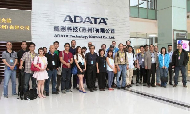 ADATA Factory Tour 2014 Group Shot