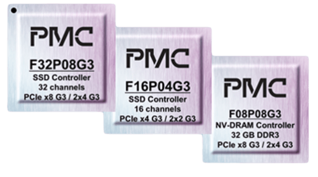 PMC flash controllers