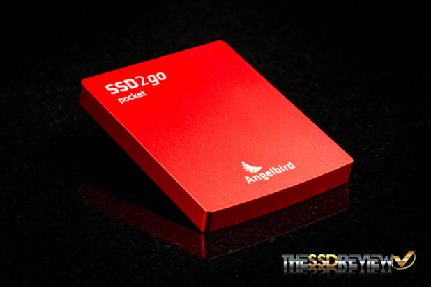 Angelbird SSD2go pocket-Angled