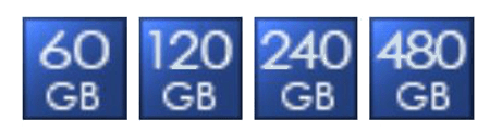 Green House SSD capacity points