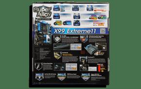 ASRock X99 Extreme11 Exterior Back
