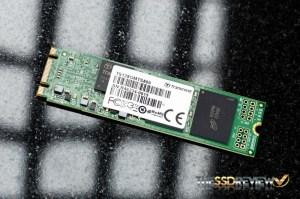 Transcend MTS800 M.2 128GB Angled