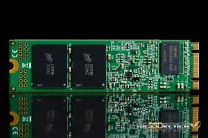 Transcend MTS800 M.2 128GB Back