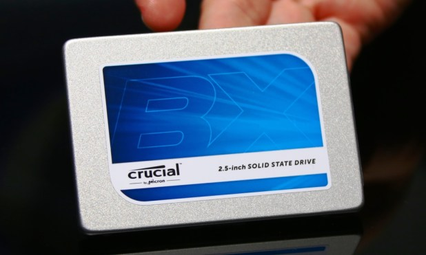 Crucial SSD CES2015 BX SSD