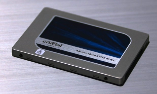 Crucial SSD CES2015 MX SSD