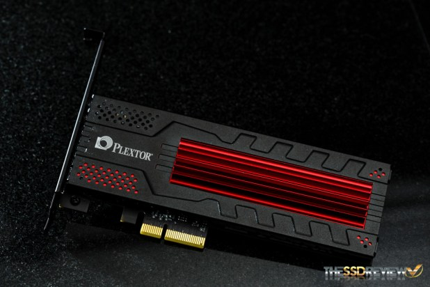 Plextor M6e Black Edition 256GB angle
